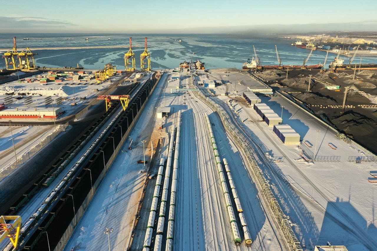 Стивидорная компания «Новотранс» нарастила объем перевалки грузов