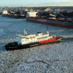 Ледокол «Капитан Плахин» спас десять рыбаков с льдины в Финском заливе