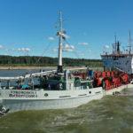 Холдинг «Новотранс» приступил к дноуглубительным работам в акватории терминала LUGAPORT